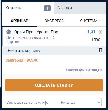 ставки в Zenit сайт